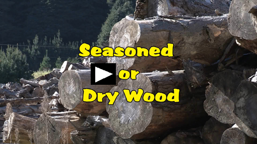 link to seasoned or dry wood video